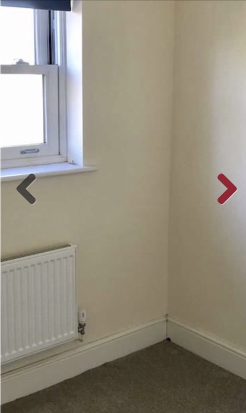 Partial window and radiator